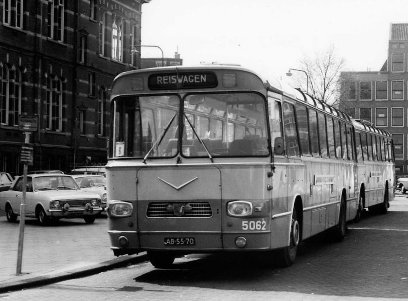 NACO bus 5062 Amsterdam Waterlooplein Leyland Verheul