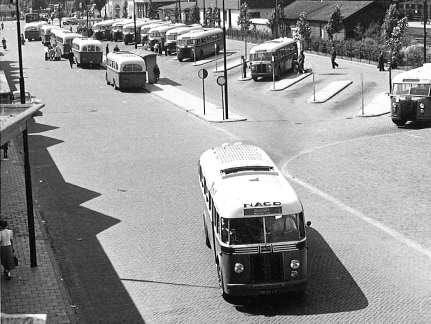 NACO NB-60-69, Stationsplein Alkmaar, (1955)