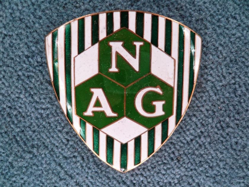 NAG automobil vintage emblem