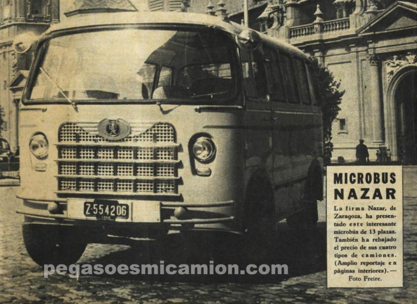 NAZAR Microbus Espana