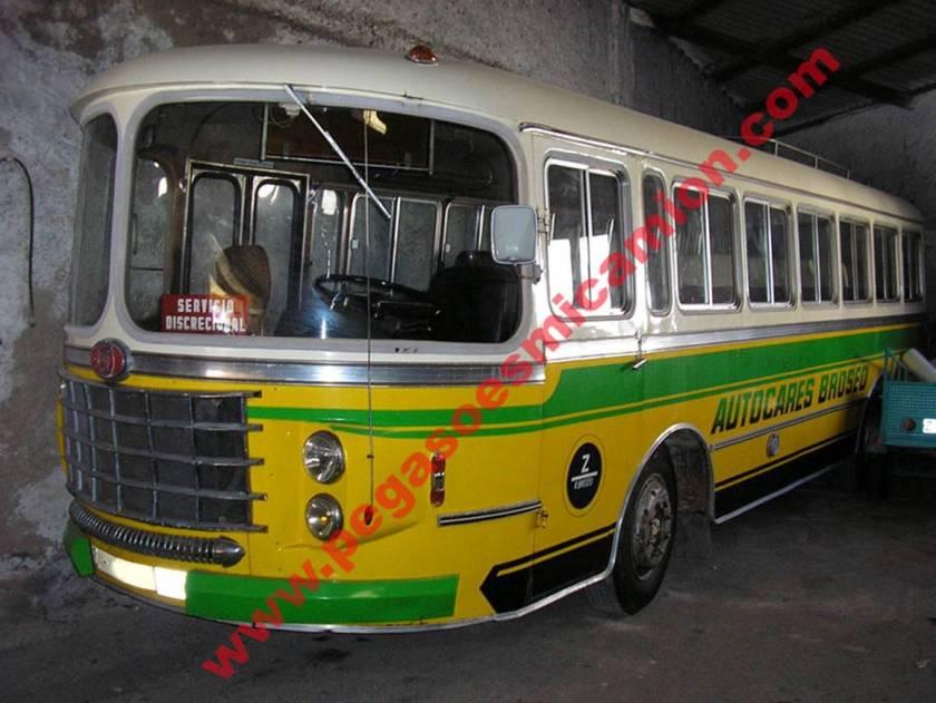 Nazar PEGASO Bus Spanje