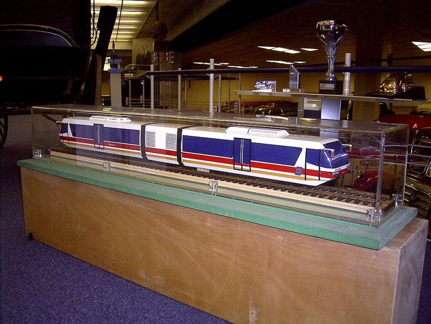 Neoplan-de dietrich eurailbus modell