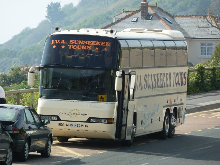Neoplan Eurocruiser in Cornwall