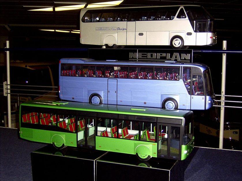 Neoplan starliner und euroliner und centroliner modelle