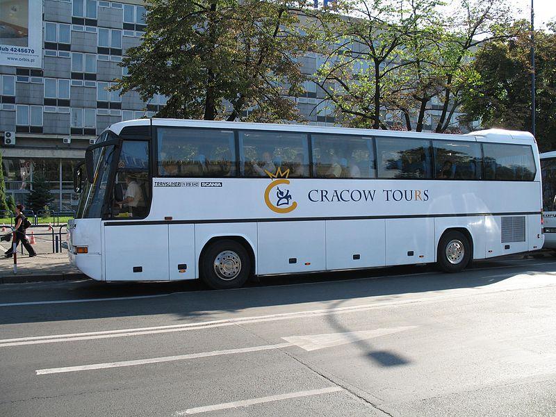 Neoplan Transliner SHD Scania in Krakow