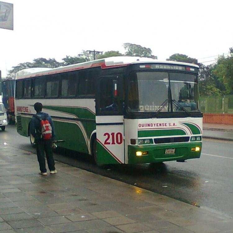 Nielson Diplomata (en Paraguay) Scania