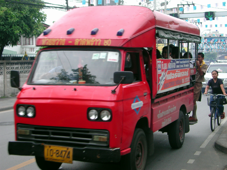 Nissan Caball C240 in Thailand Songtaew