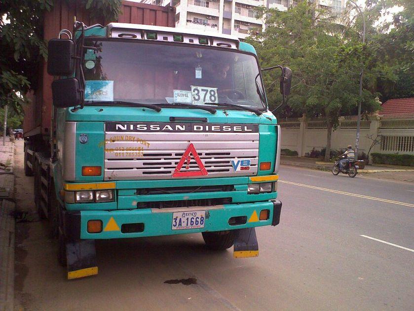 Nissan.CW.340.Diesel.Truck.1.Cambodge