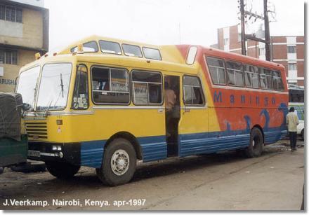 Nissan Diesel -Banbros Bus Mawingo Kenia