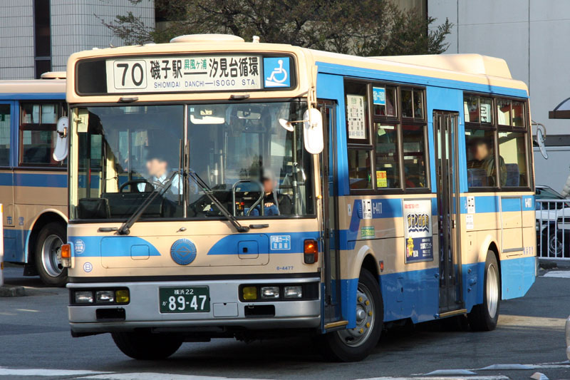 Nissan KC-JP250NTN Yokohama City Bus 6-4477
