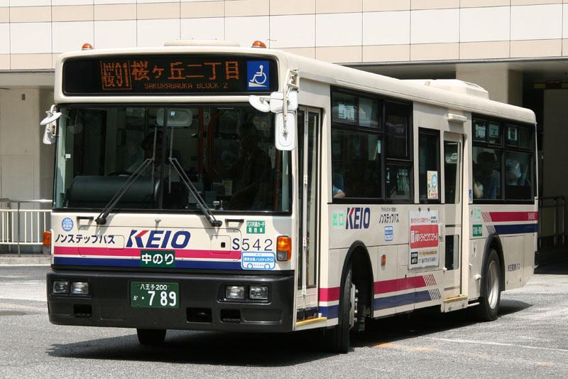 Nissan KL-JP252NAN Keio Dentetsu Bus S40542