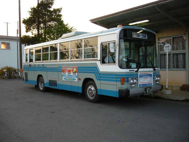 Nissan P-RM81G Kantetsu-kankou-bus,tamatukuri-station,inasiki-city,japan