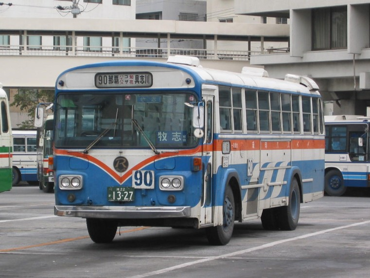 Nissan U U20Hkai Ryukyu-Bus-3E