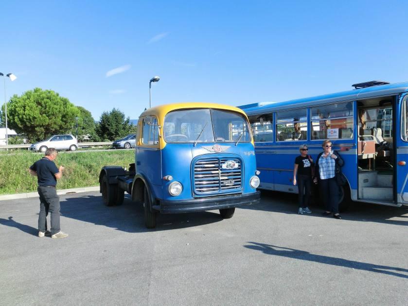 OM Tigre trattore stradale tractor unit San Vendemiano