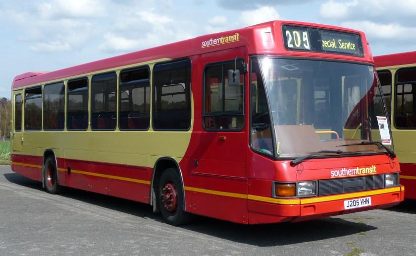 Optare Delta  Southern Transit J205 VHN