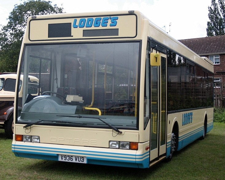 Optare Lodge's low floor bus