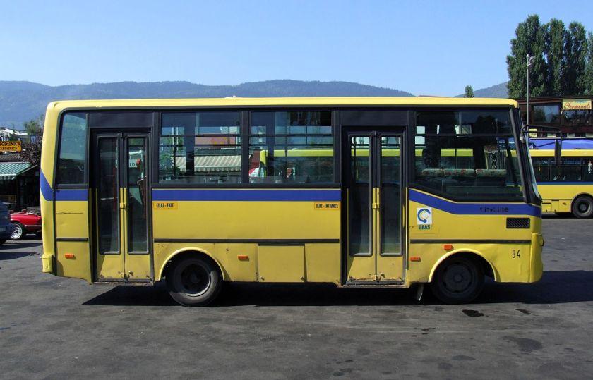 Otoyol bus in Sarajevo