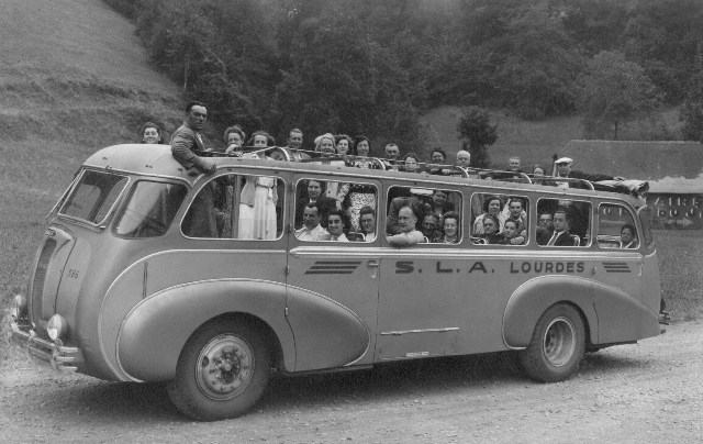 Panhard 4HL Touringcar Lourdes