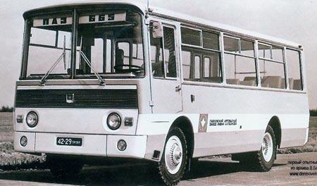 PAZ-665 prototype