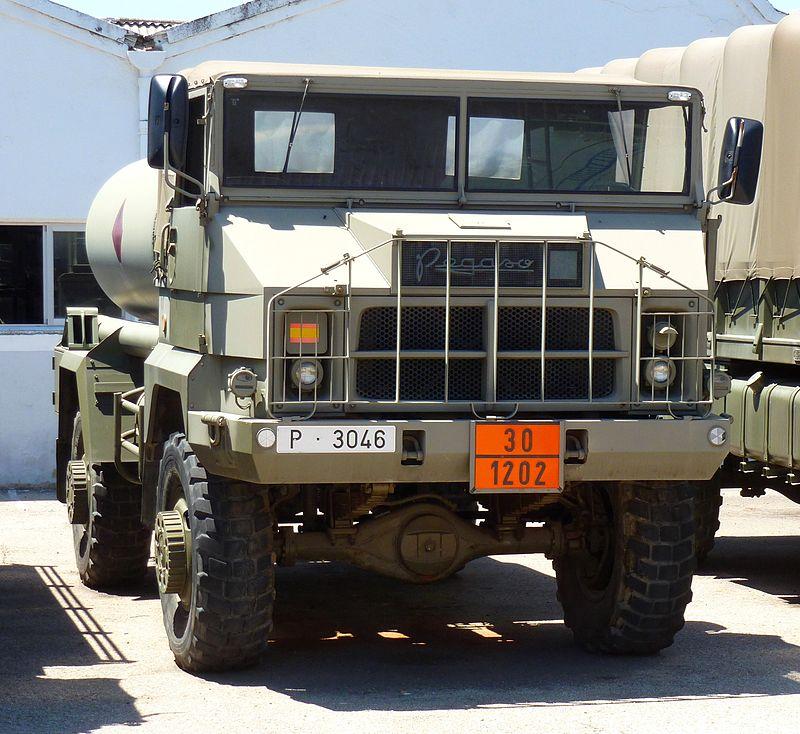 Pegaso 3046 cisterna Ejército español