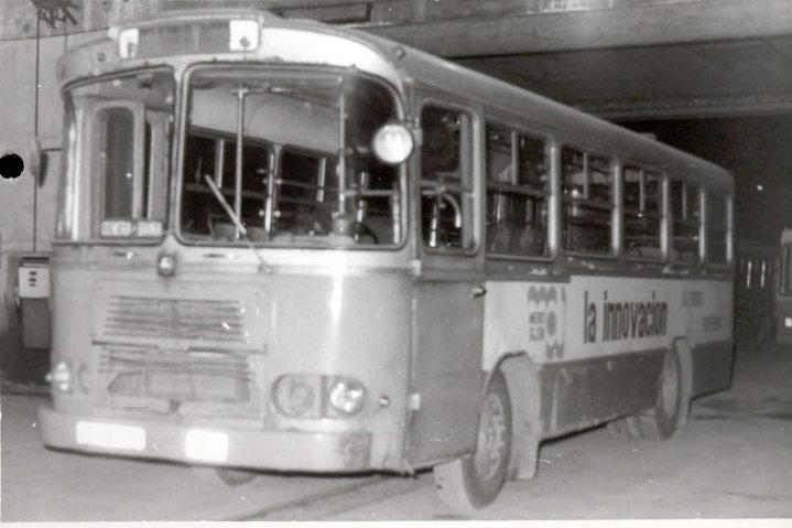 Pegaso 5061 Comet, el autobús número 1