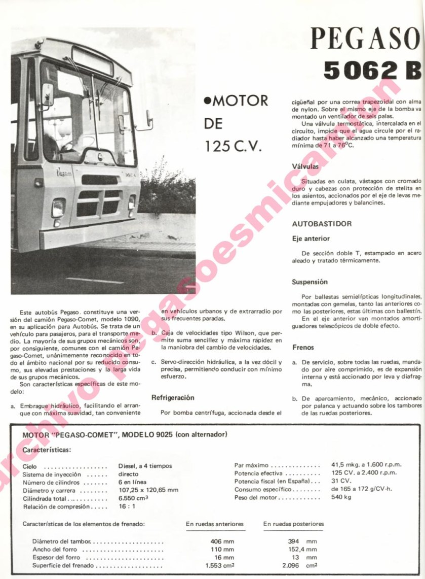 PEGASO 5062 B