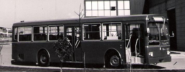 Pegaso 6050 leaving the Enasa factory at Zona Franca