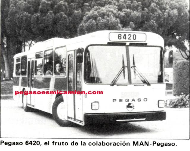 Pegaso 6420 in combinatie met MAN