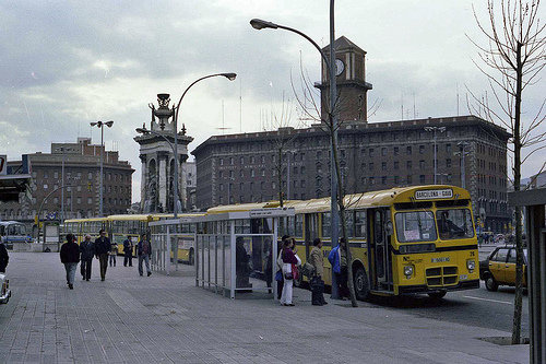 Pegaso bus Barcelona