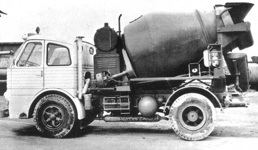 Pegaso Cementwagen