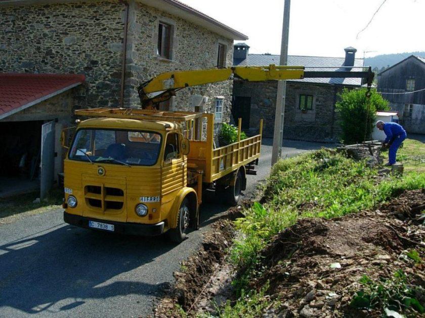 Pegaso Comet Kraanwagen