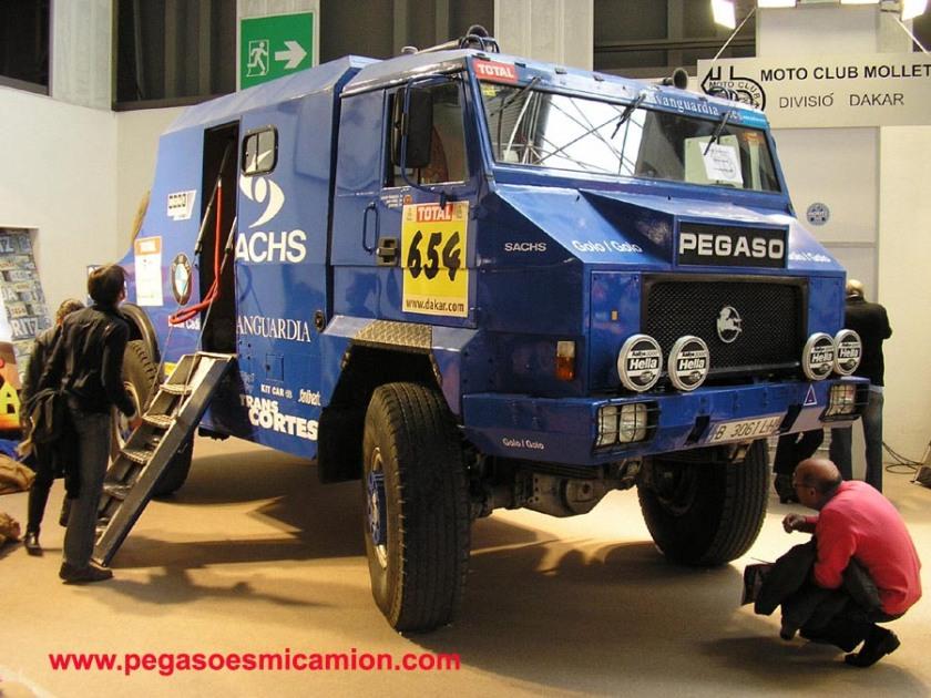 Pegaso Dakar a