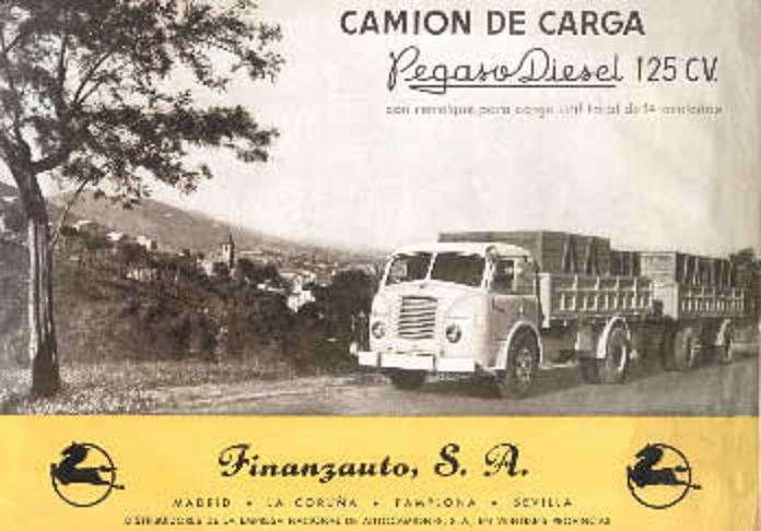 Pegaso Diesel 125CV
