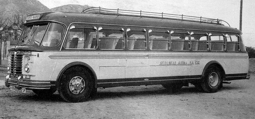 Pegaso Diesel (supongo que Z-401) a