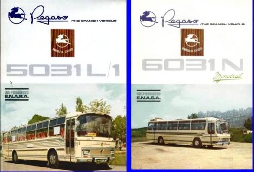 PEGASO ENASA 5031 L-1 + 6031 N