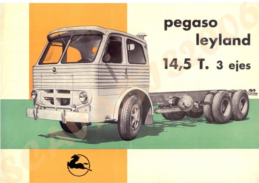 Pegaso Leyland 14,5 T esp