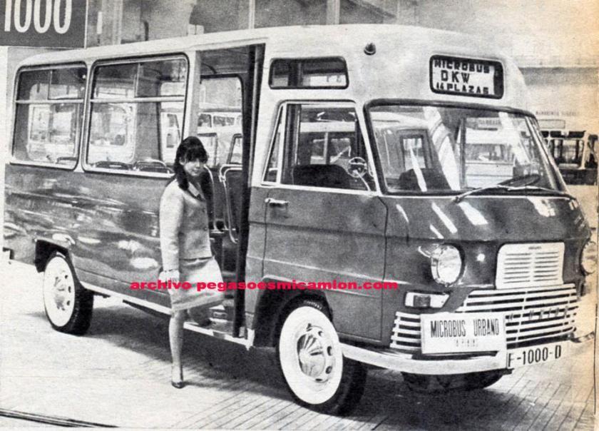 Pegaso Microbus Urbana
