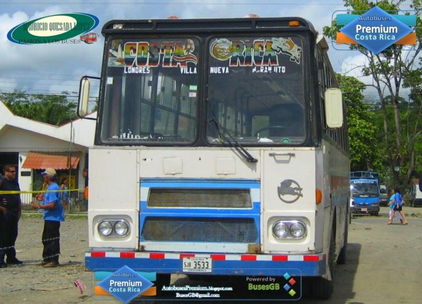 Pegaso Quepos SJB3533 2011