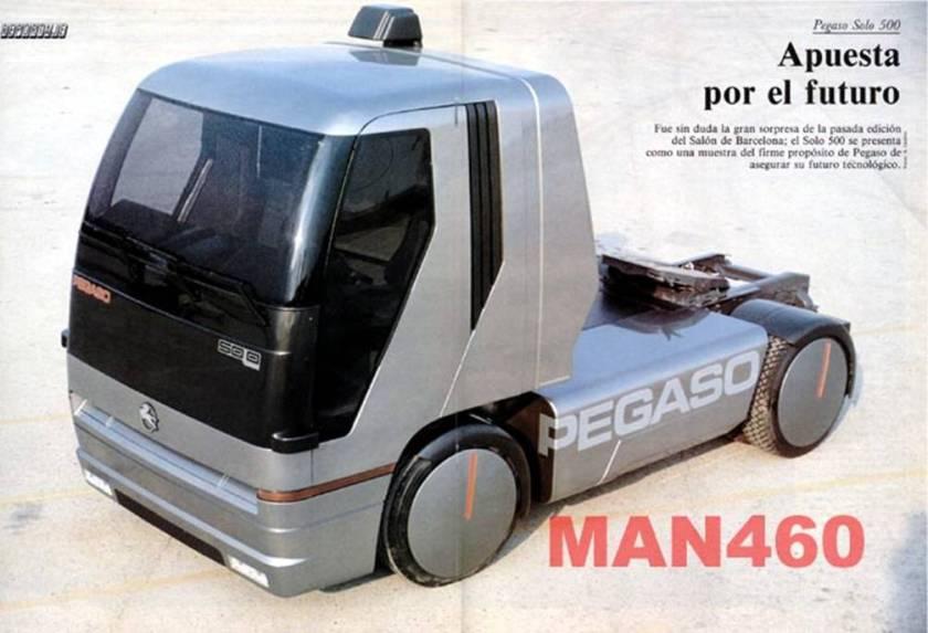 PEGASO SOLO 500 Man 460