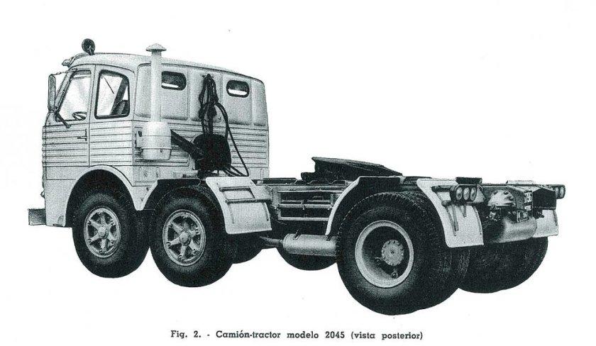 Pegaso Tractor 2045