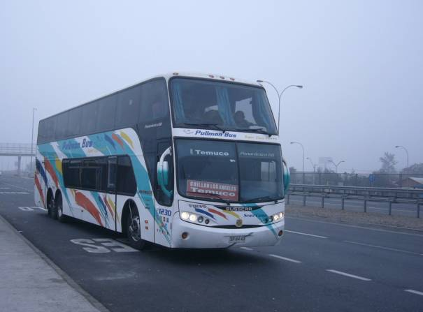 Pullman Bus (Chile) Volvo Busscar Panoramico