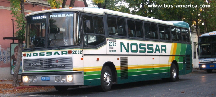 Scania K 112 - Nielson Diplomata 350 (en Uruguay) - Nossar