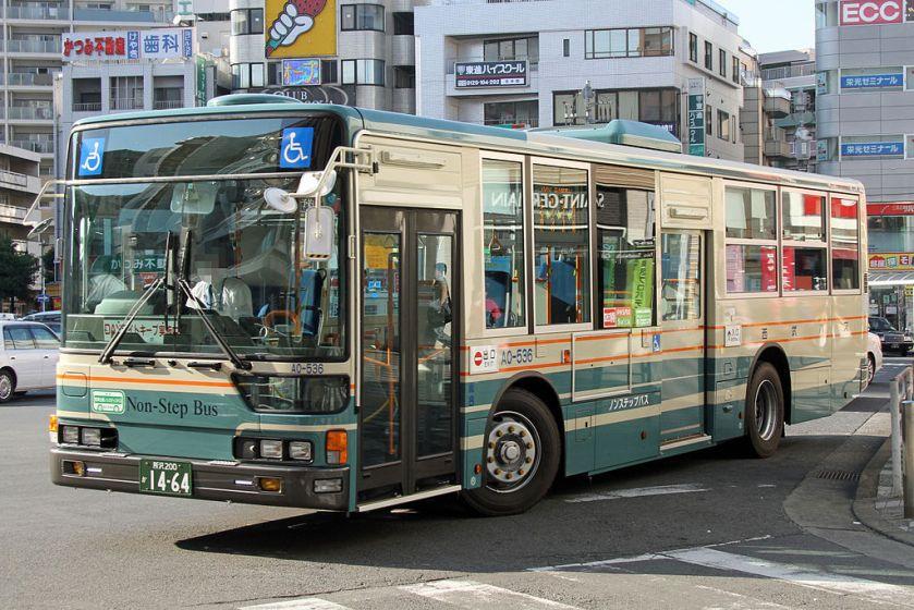 SeibuBus A0-536
