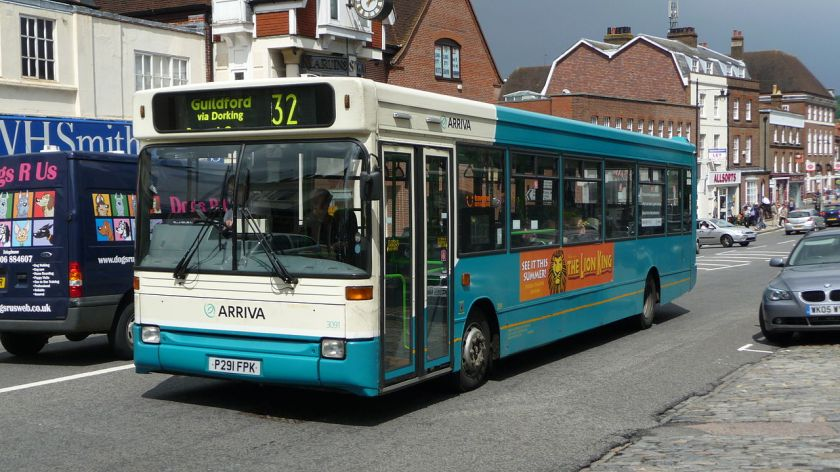 05 Arriva Guildford&West Surrey 3091 P291 FPK