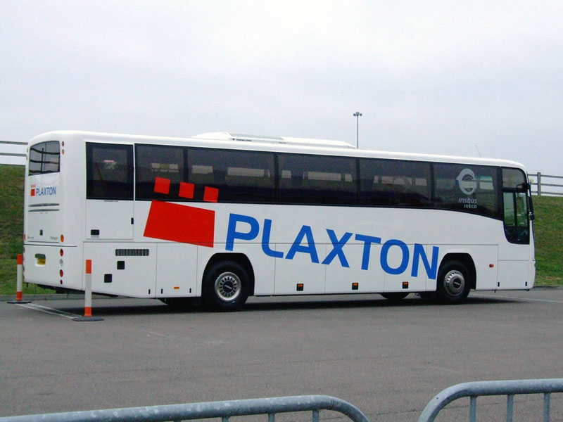 07 Plaxton Paragon demonstrator