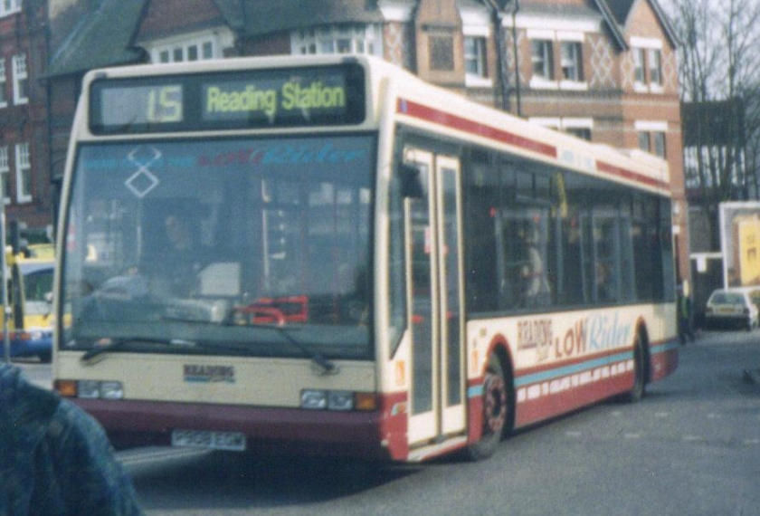 08 1999 Reading Buses bus 908 Optare Excel P908 EGM Low Rider branding Route 15