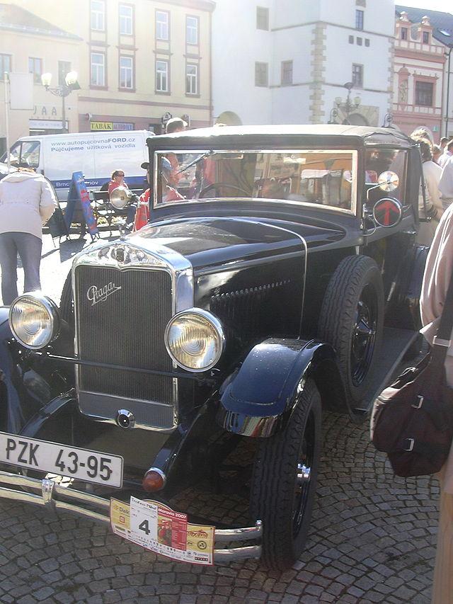 1 1930 Praga Alfa car