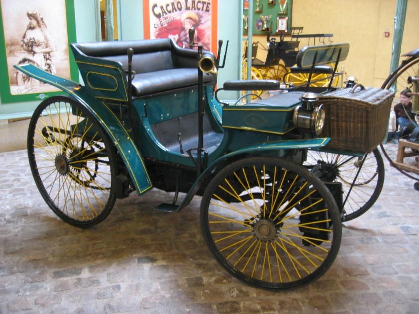 1891 Peugeot Type 3 avec daimler
