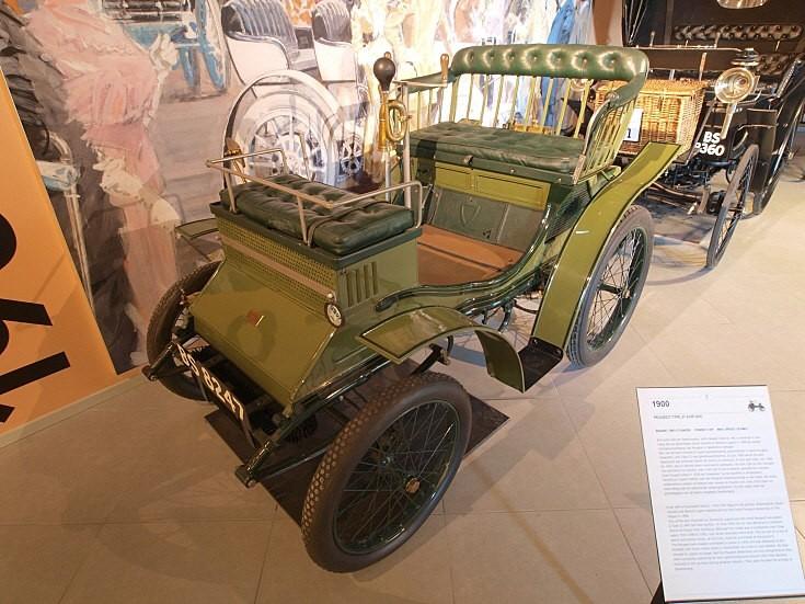 1900 Peugeot Type 31