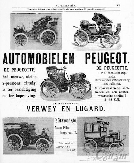 1900 peugeot verwey